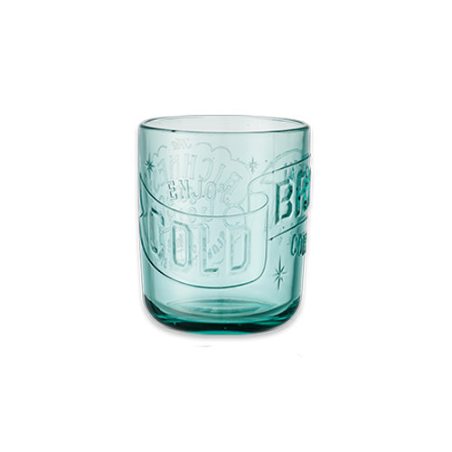 Verre cold brew turquoise