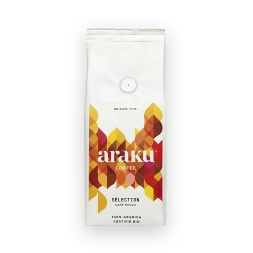 Sachet - grains, moulu - café Selection - Araku Coffee